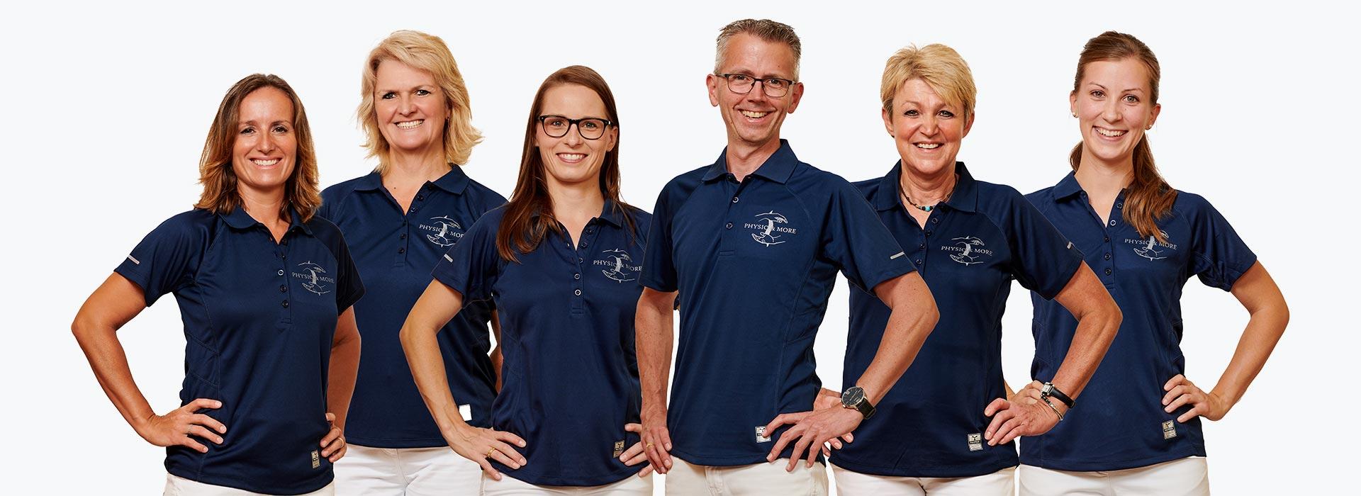 Das Team der Physiotherapie-Praxis in Straubing